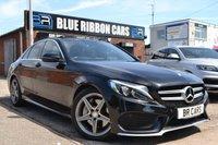 USED 2015 MERCEDES-BENZ C CLASS 2.1 C250 D AMG LINE 4d AUTO 204 BHP HIGH SPEC PREMIUM SALOON