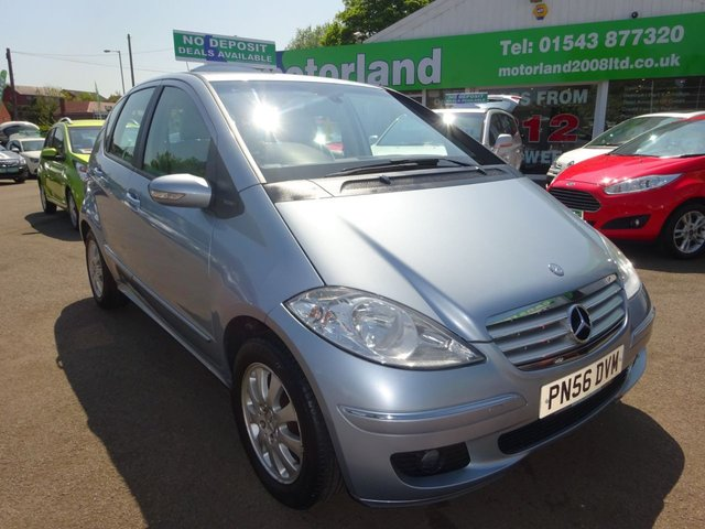 USED 2006 56 MERCEDES-BENZ A CLASS 1.5 A150 ELEGANCE SE 5d 94 BHP **JUST ARRIVED**TEST DRIVE TODAY**FINANCE AVAILABLE**