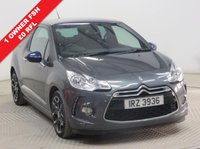USED 2014 64 CITROEN DS3 1.6 E-HDI DSTYLE PLUS 3d 90 BHP 1 Owner, Full Citreon Service History, serviced in September 2015 at 12,531 miles, September 2016 at 27.510 miles, July 2017 at 44,053 miles and April 2018 at 60,4672 miles. £0 Road Fund Licence, Bluetooth, Air Conditioning, Alloy Wheels, Parking Sensors. Free RAC Warranty and Free RAC Breakdown Cover.