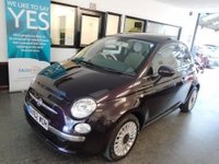 USED 2012 62 FIAT 500 0.9 LOUNGE 3d 85 BHP This 500 is finished in Viola Dolce purple metallic with Black and White Chequered cloth seats. It is fitted with power steering with city button, panoramic electric Sunroof, remote locking, electric windows and mirrors, climate control, Blue & Me, alloy wheels, CD Stereo with USB port and more. It has had one private owner and comes with a service history consisting of stamps, invoices and some old Mot certificates. The current Mot runs till November 2018, we will supply it with 12 months.