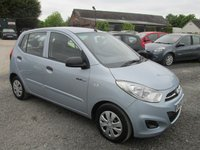 USED 2011 60 HYUNDAI I10 1.0 BLUE 5DR 23000 MILES  ONLY 23000 MILES FREE ROAD TAX