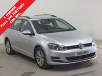 USED 2015 15 VOLKSWAGEN GOLF 1.6 SE TDI BLUEMOTION TECHNOLOGY 5d 103 BHP 1 Owner, Full VW History, £20 Road Fund Licence, Bluetooth, Air Conditioning, 2 Keys. Free RAC Warranty and Free RAC Breakdown Cover.