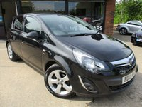 USED 2012 12 VAUXHALL CORSA 1.2 SXI AC 5d 83 BHP TWO OWNERS, NEW MOT, ALLOYS, AIR CONDITIONING SERVICE HISTORY