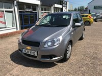 USED 2011 11 CHEVROLET AVEO 1.2 LS 5d 83 BHP 1 Owner-Service History-Low Mileage-1.2 Petrol-5 Door-Air Con