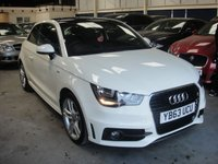 USED 2013 63 AUDI A1 1.4 TFSI S LINE 3d AUTO 122 BHP ANY PART EXCHANGE WELCOME, COUNTRY WIDE DELIVERY ARRANGED, HUGE SPEC
