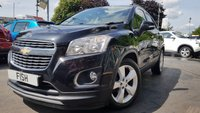 USED 2013 13 CHEVROLET TRAX 1.6 LT 5d 113BHP 1FORMER KEEPER+FSH+2KEYS+MEDIA