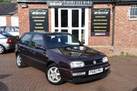 1996 VOLKSWAGEN GOLF 2.8 VR6 HIGHLINE 3d 172 BHP £2995.00