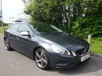 2012 VOLVO S60 1.6 D2 R-DESIGN 4d 113 BHP £7390.00