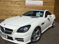 USED 2014 14 MERCEDES-BENZ SLK 2.1 SLK250 CDI BLUEEFFICIENCY AMG SPORT 2d AUTO 204 BHP PANORAMIC GLASS ROOF