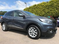USED 2015 65 RENAULT KADJAR 1.5 DCI DYNAMIQUE NAV  5d  WITH SAT NAV AND SERVICE HISTORY  NO DEPOSIT  PCP/HP FINANCE ARRANGED, APPLY HERE NOW