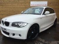 2011 BMW 1 SERIES 2.0 116D M SPORT 3d 114 BHP HALF LEATHER + BLUETOOTH  £7699.00
