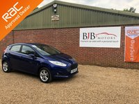 USED 2016 16 FORD FIESTA 1.2 ZETEC 5d 81 BHP BLUE METALLIC