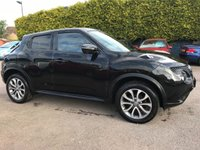 USED 2015 65 NISSAN JUKE 1.5 DCI TEKNA  5d WITH SERVICE HISTORY AND LEATHER NO DEPOSIT  PCP/HP FINANCE ARRANGED, APPLY HERE NOW