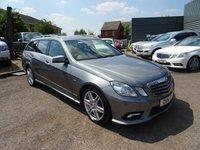2011 MERCEDES-BENZ E CLASS 2.1 E220 CDI BLUEEFFICIENCY SPORT 5d AUTO 170 BHP £9490.00