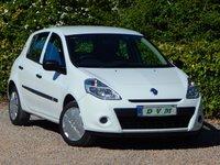 2012 RENAULT CLIO 1.1 PZAZ 5d 75 BHP £3670.00