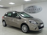 USED 2009 59 RENAULT CLIO 1.1 DYNAMIQUE TCE  SPORT TOURER 5dr GREAT VALUE MOT 12.6.19