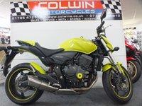 2013 HONDA CB 600 599cc CB 600 FA-A  £5495.00