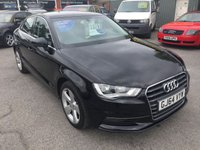 USED 2014 64 AUDI A3 1.4 TFSI SPORT 4 DOOR AUTOMATIC SALOON 148 BHP IN BLACK WITH ONLY 41500 MILES APPROVED CARS ARE PLEASED TO OFFER THIS AUDI A3 1.4 TFSI SPORT 4 DOOR AUTOMATIC SALOON 148 BHP IN BLACK WITH ONLY 41500 MILES IN IMMACULATE CONDITION INSIDE AND OUT THE CARS A 1.4 TFSI MODEL WITH A FULLY AUTOMATIC GEARBOX AND A FULL AUDI SERVICE HISTORY A TRULY STUNNING CAR..