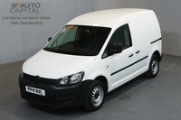 USED 2014 14 VOLKSWAGEN CADDY 1.6 C20 TDI STARTLINE 74 BHP SWB ONE OWNER FROM NEW, FULL SERVICE HISTORY