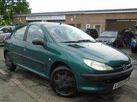 2000 PEUGEOT 206 1.4 LX 5d 74 BHP £495.00