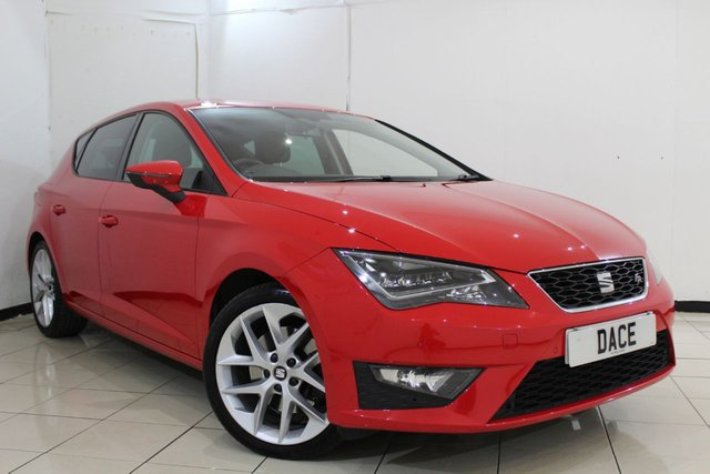 View our 2014 14 SEAT LEON 2.0 TDI FR TECHNOLOGY DSG 5DR AUTOMATIC 184 BHP