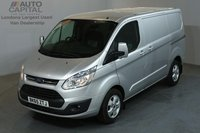USED 2015 65 FORD TRANSIT CUSTOM 2.2 270 LIMITED 124 BHP L1 H1 SWB LOW ROOF A/C  ONE OWNER FROM NEW, SERVICE HISTORY