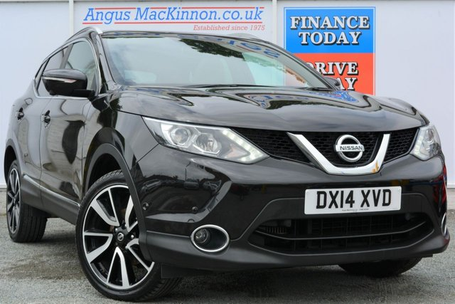 2014 14 NISSAN QASHQAI 1.6 DCI PREMIER LIMITED EDITION 4x4 Lovely 5dr Family SUV in Black