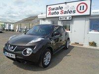 2013 NISSAN JUKE 1.6 TEKNA 5d AUTO 117 BHP £9595.00