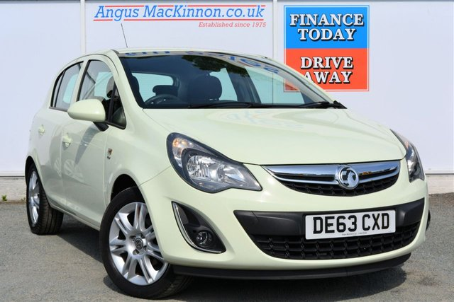 2013 63 VAUXHALL CORSA 1.2 ENERGY 5d Hatchback Ideal 1st Car with Low Running Costs