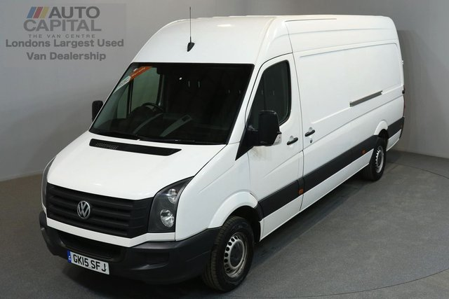 2015 15 VOLKSWAGEN CRAFTER 2.0 CR35 135 BHP LWB HIGH ROOF