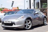 USED 2010 60 NISSAN 370Z 3.7 V6 GT 3d AUTO 328 BHP Full Service History 6 Stamps,satnav,bluetooth,heated seats