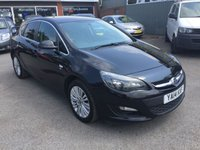 USED 2014 14 VAUXHALL ASTRA 1.6 EXCITE CDTI ECOFLEX S/S 5 DOOR 108 BHP IN BLACK WITH ONLY 33000 MILES APPROVED CARS ARE PLEASED TO OFFER THIS VAUXHALL ASTRA 1.6 EXCITE CDTI ECOFLEX S/S 5 DOOR 108 BHP IN BLACK WITH ONLY 33000 MILES AND A FULL SERVICE HISTORY ALONG WITH A GREAT SPEC INCLUDING REVERSE CAMERA,SAT NAV,HALF LEATHER INTERIOR,2 KEYS,6 SPEED MANUAL GEARBOX,ABS,ALARM,ALLOYS,CRUISE CONTROL AND MUCH MORE WITH A VERY LOW MILEAGE.