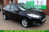 USED 2015 15 FORD FIESTA 1.0 ZETEC 5d AUTO 99 BHP +AUTOMATIC +5 DOOR +LOW TAX.