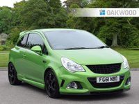USED 2011 61 VAUXHALL CORSA 1.6 VXR NURBURGRING EDITION 3d 202 BHP