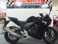 USED 2014 14 HONDA CBR 500 471cc CBR 500 RA-E  ONLY 5000 MILES WITH FSH!!!