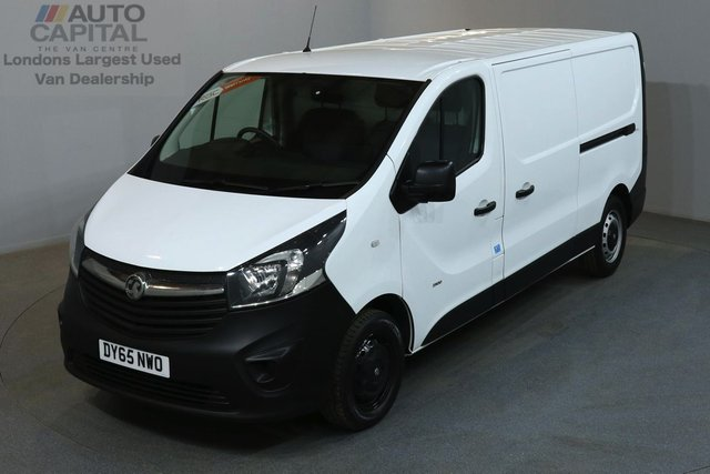 2015 65 VAUXHALL VIVARO 1.6 2900 114 BHP L2 H1 LWB LOW ROOF ONE OWNER FROM NEW, SERVICE HISTORY