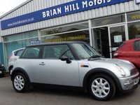 2004 MINI HATCH COOPER 1.6 3dr  £2595.00