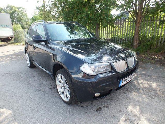 2009 BMW X3 Xdrive20d Limited Sport Edition £8,995