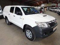 2013 TOYOTA HI-LUX 2.5 HL2 4X4 D-4D DCB  142 BHP DOUBLE CAB PICK UP £9995.00