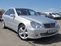 USED 2007 56 MERCEDES-BENZ C CLASS 2.1 C220 CDI AVANTGARDE SE 4d AUTO 148 BHP FULL DEALER HISTORY, 12 MONTHS MOT, 2 OWNERS.