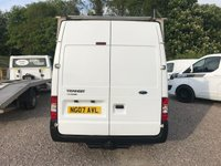 USED 2007 07 FORD TRANSIT T280 85PS SWB SEMI HIGH ROOF **NO VAT**