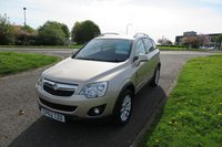 USED 2013 62 VAUXHALL ANTARA 2.2 EXCLUSIV CDTI 4WD Auto,Half Leather,Cruise,Air Con Low Mileage,Air Con,Cruise Control,F.S.H