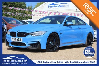 2016 BMW M4 3.0 M4 COMPETITION PACKAGE 2d AUTO 444 BHP £42995.00