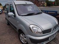 2018 RENAULT KANGOO gowrings mobiity vehicle £2695.00