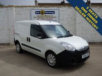 USED 2014 64 VAUXHALL COMBO VAN 1.2 2300 L1H1 CDTI 1d 90 BHP One Owner Dealer History 5 Seat 0% Deposit Finance Available