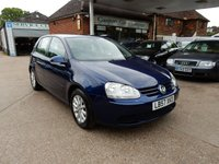 USED 2008 57 VOLKSWAGEN GOLF 1.9 MATCH TDI 5d 103 BHP FULL HISTORY,TWO KEYS,AIR CON,CRUISE CONTROL,GOOD TYRES