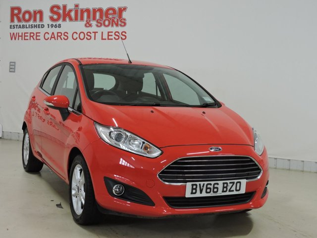 View our 2016 66 FORD FIESTA 1.2 ZETEC 5d 81 BHP