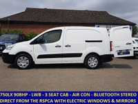 2011 CITROEN BERLINGO 750 LX L2 AIRDREAM E-HDI WITH AIR CON FROM THE RSPCA £5795.00