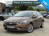 USED 2016 16 VAUXHALL ASTRA 1.4 ELITE NAV 5d 148 BHP 1 Local Owner From New