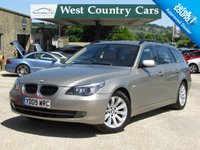 USED 2009 09 BMW 5 SERIES 2.0 520D SE TOURING 5d AUTO 175 BHP 1 Family Owners From New